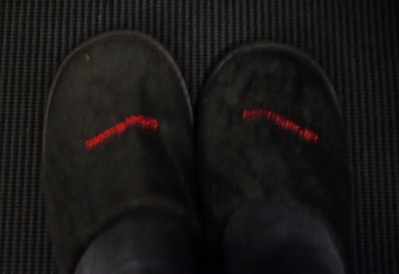 Slippers, Air Berlin Business Class