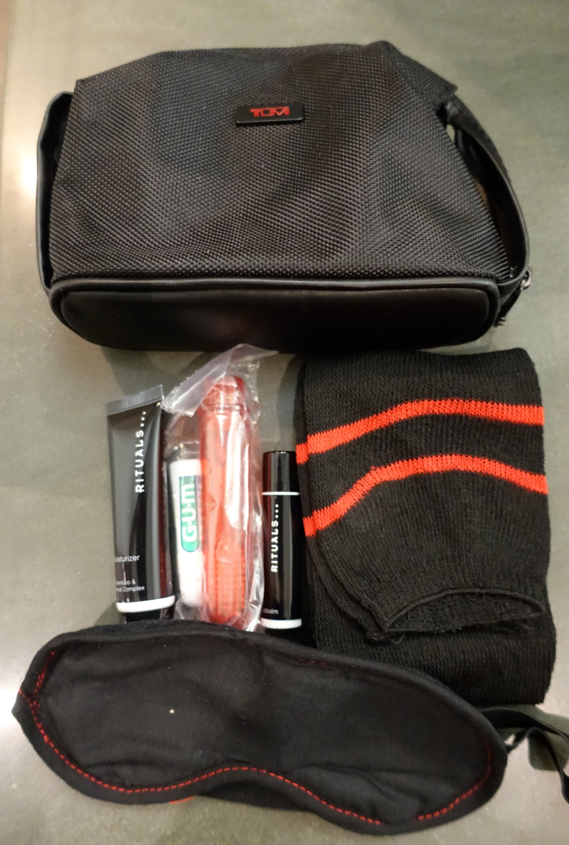 Air Berlin Business Class Review-Amenity Kit