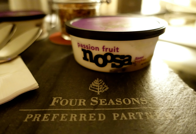Review-Four Seasons Chicago-Personalized Welcome Amenity