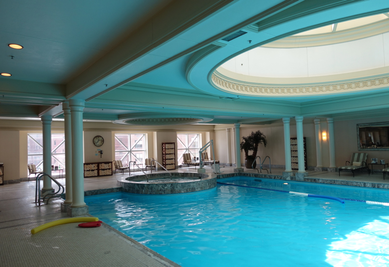 Review-Four Seasons Chicago Swimming Pool