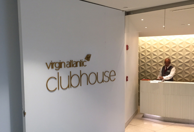 Review: Virgin Atlantic Clubhouse NYC JFK Airport-Reception