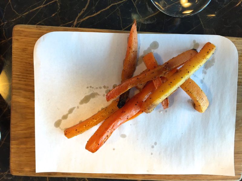 Spring Carrots, Virgin Atlantic Clubhouse NYC JFK Lounge Review