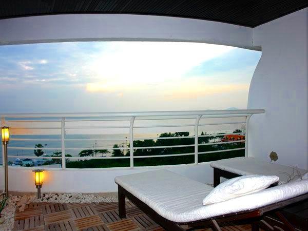 Sea view from Jomtien Metro Condotel, Pattaya