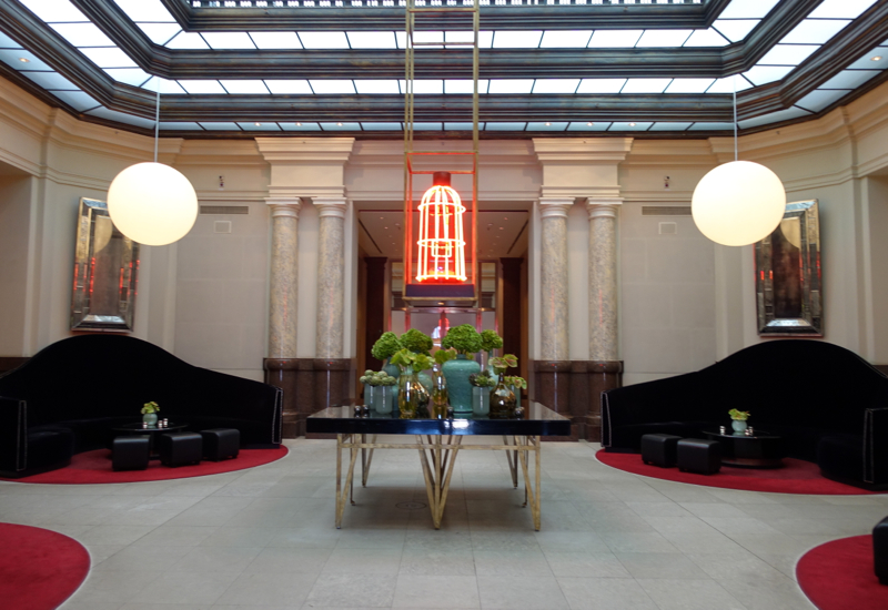 Review-Hotel de Rome, Berlin-Lobby Lounge