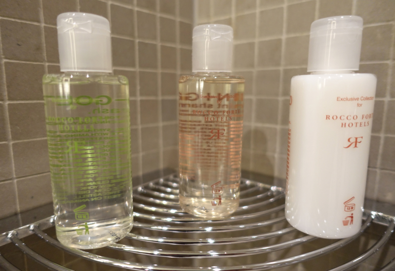 Review-Rocco Forte Hotel de Rome, Berlin: Malin + Goetz Bath Products