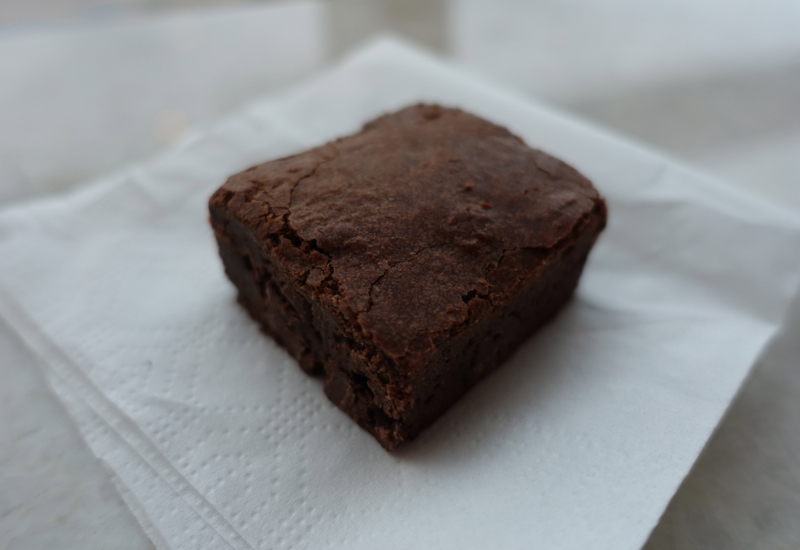 Review-AMEX Centurion Lounge New York LGA-Brownie