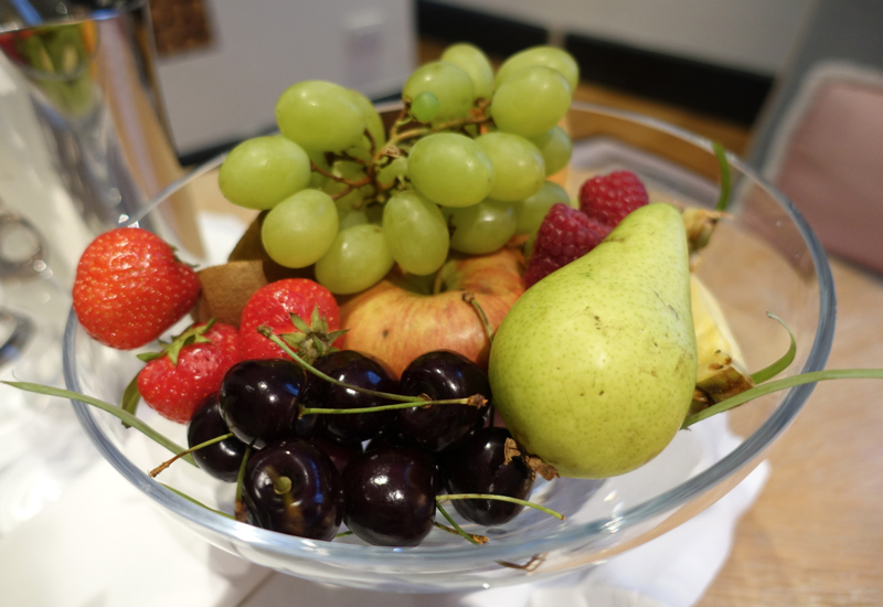 Review: Portrait Roma Fruit Welcome Amenity