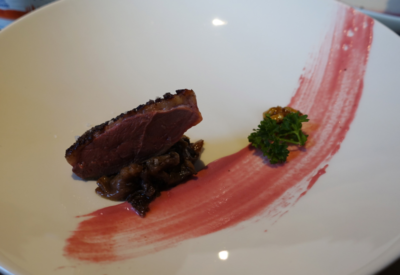 Duck Breast with Red Chicory, Marzapane Roma Review