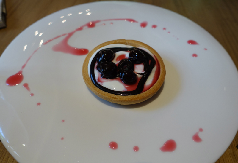 Ricotta and Cherry Tart for Dessert, Marzapane Roma Review