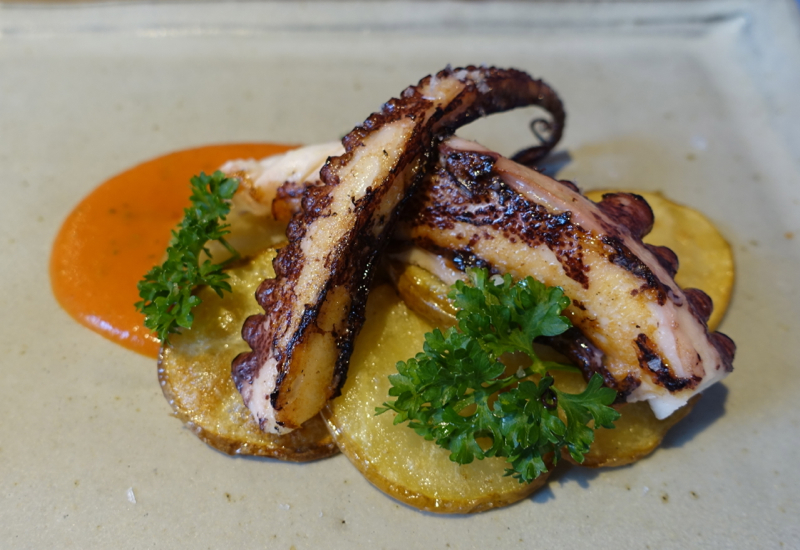Review-Marzapane Roma Restaurant-Roasted Octopus