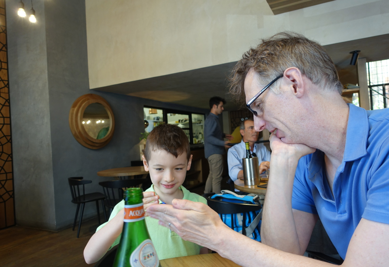 Review-Marzapane Roma-Rome Restaurant-Lunch Seating