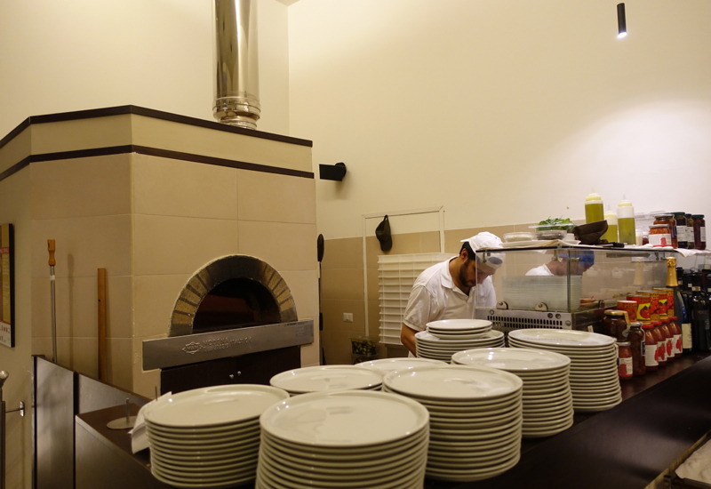 Emma Pizzeria Rome Review- Pizza Oven