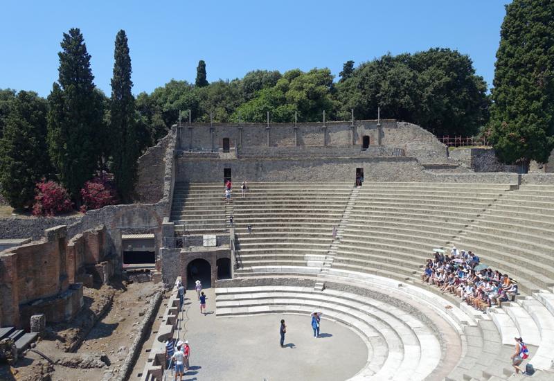 Pompeii Review-Amphitheater