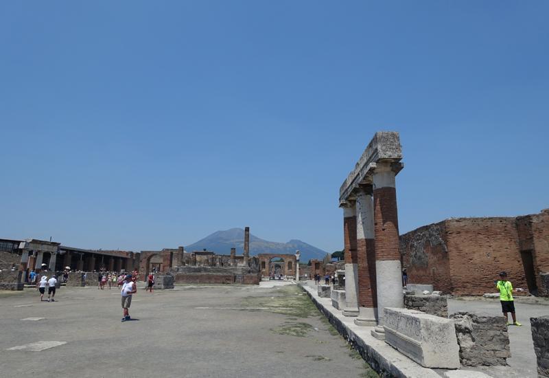 Pompeii Forum and Mount Vesuvius, Pompeii Private Tour Review