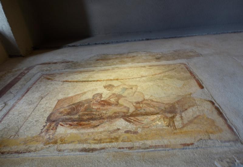 Pompeii Review: Brothel Fresco