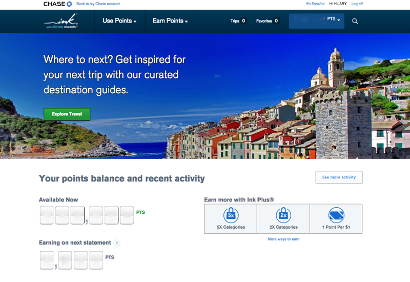 Chase Ultimate Rewards Points Transfer Rules