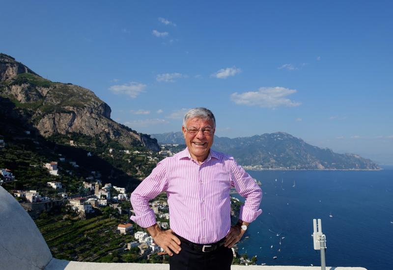 General Manager Flavio Colantuoni, Monastero Santa Rosa Hotel & Spa Review