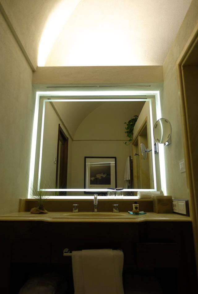 Bathroom, Sea View Superior Room, Monastero Santa Rosa Review