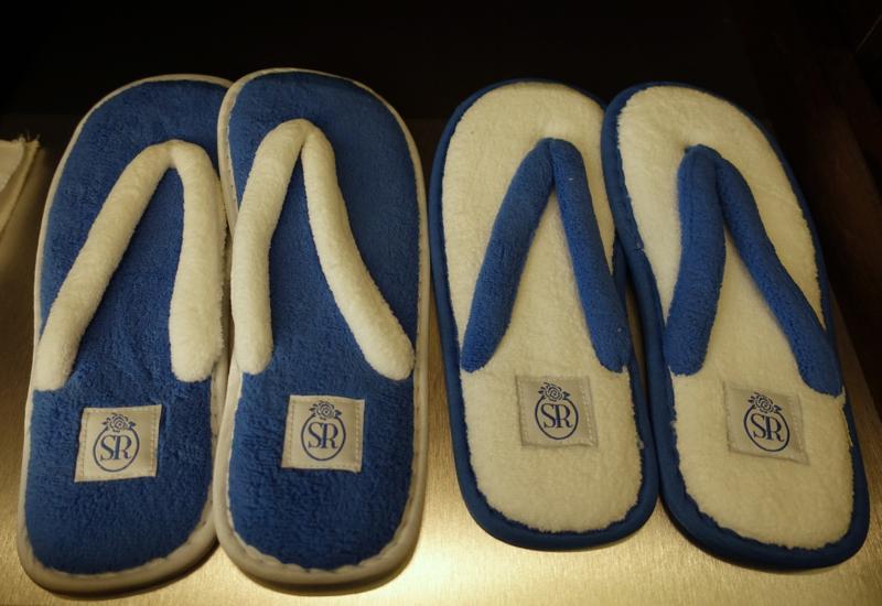 Slippers, Monastero Santa Rosa Hotel & Spa Review