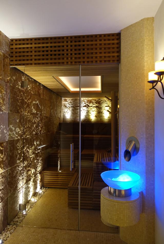 Finnish Sauna, Monastero Santa Rosa Spa Review