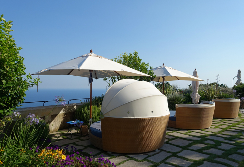 Review-Monastero Santa Rosa Hotel & Spa-Lounge Chairs Near Pool