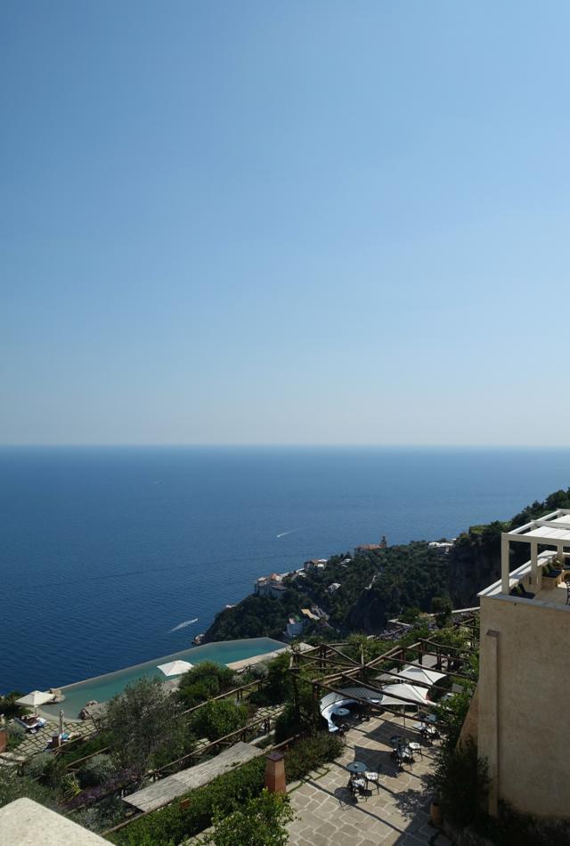 View from Sea View Superior Room, Monastero Santa Rosa Amalfi Coast