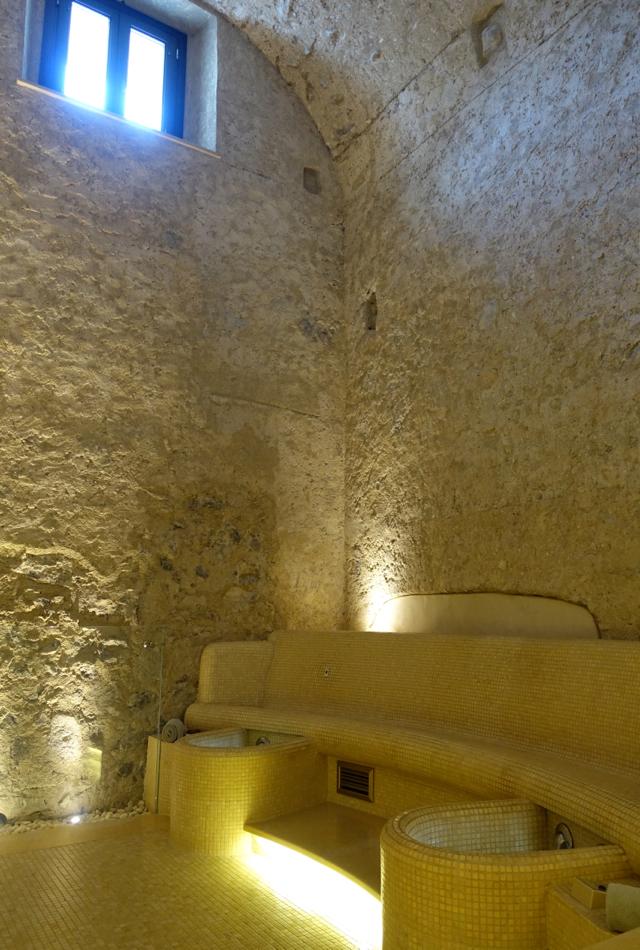 Tepidarium, Monastero Santa Rosa Spa Review
