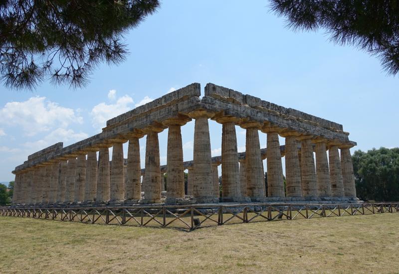 Paestum Greek Temples-Temple to Hera