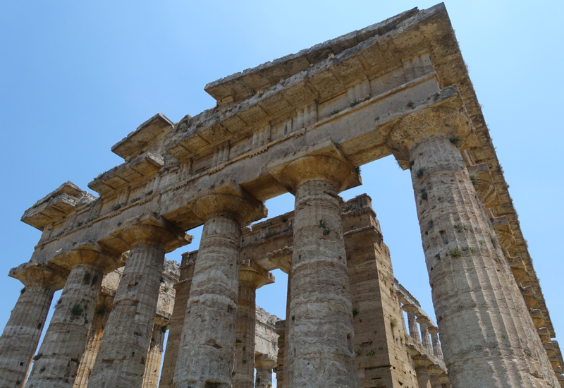 Paestum: Greek Temple to Poseidon Most Likely Dedicated to Hera