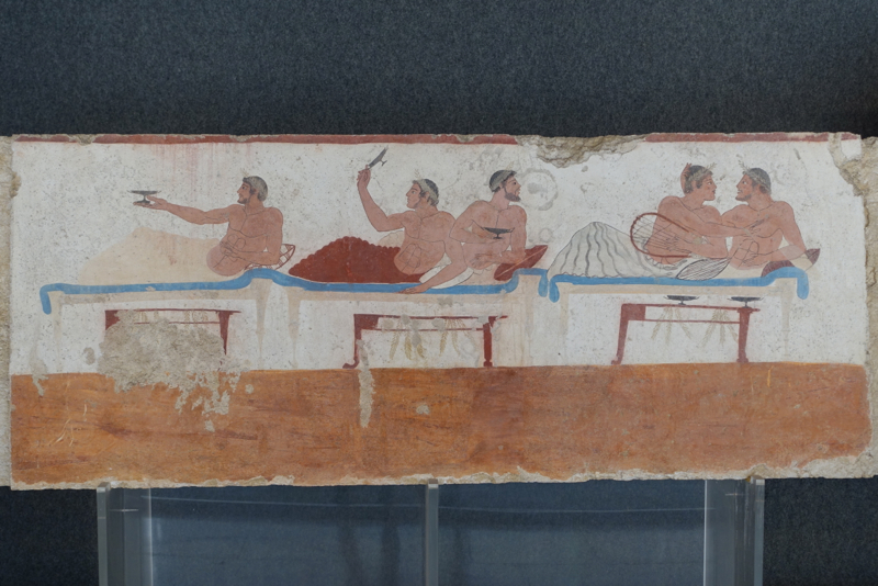 Paestum: Another Scene from the Tomb of the Diver