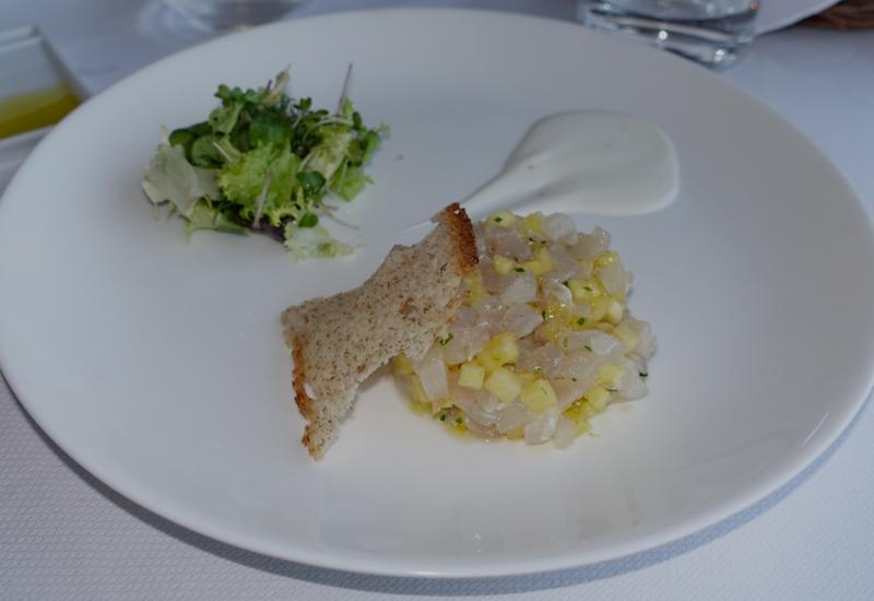 Amberjack Tartar, Il Refettorio Restaurant, Monastero Santa Rosa