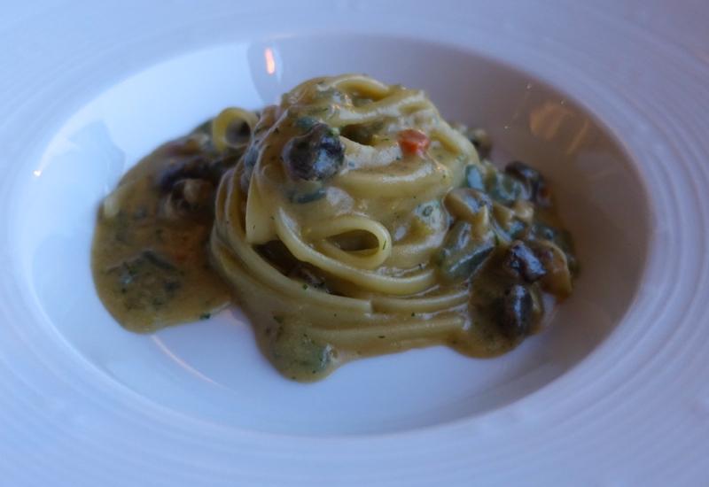 Gragnano Pasta with Sea Urchin Sauce and Sea Snails, Monastero Santa Rosa