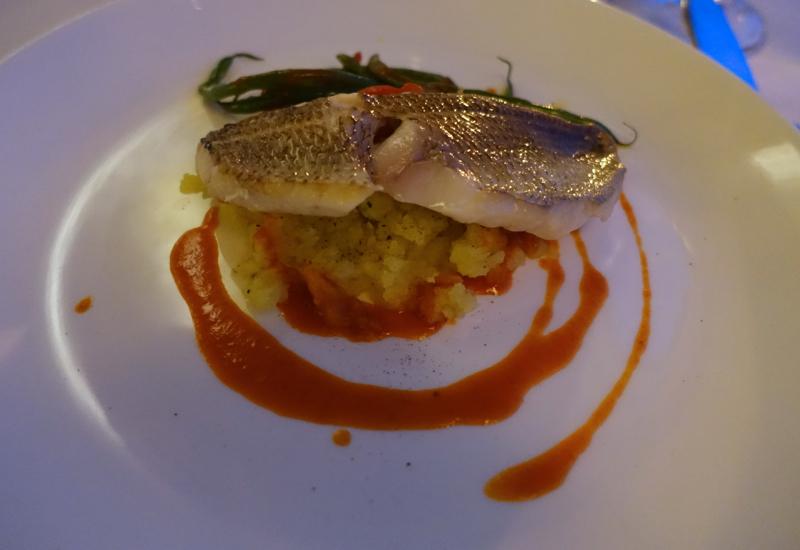 Grilled Sea Bream, Il Refettorio, Monastero Santa Rosa