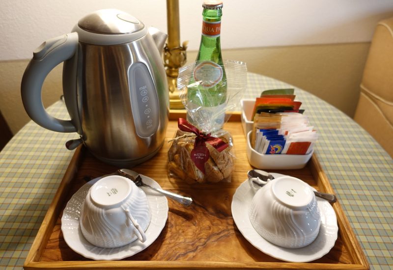 Tea Kettle and Biscotti, Castello Banfi Il Borgo Review