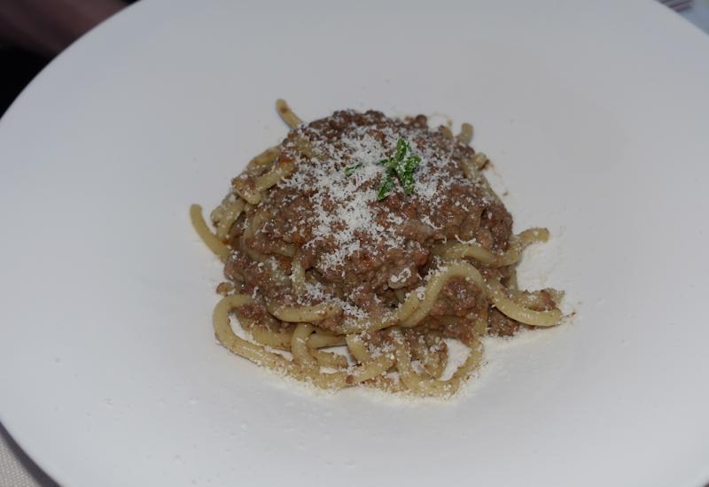 Pinci Pasta with Wild Boar Ragu