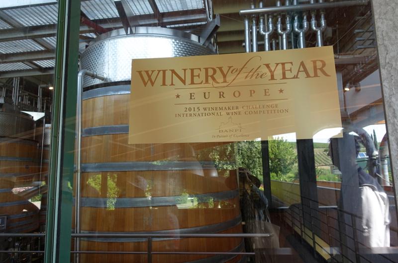 Castello Banfi 2015 Winery of the Year, Europe Award