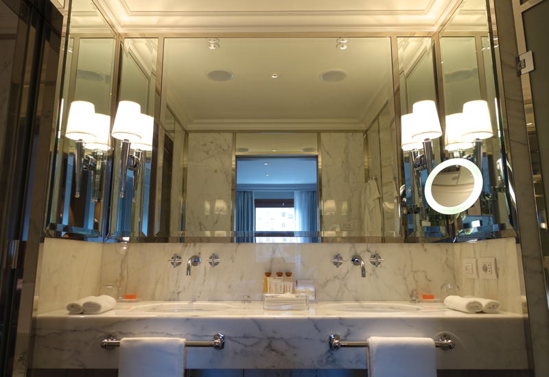 Review-Portrait Firenze-Superior Suite Bathroom with Double Sinks