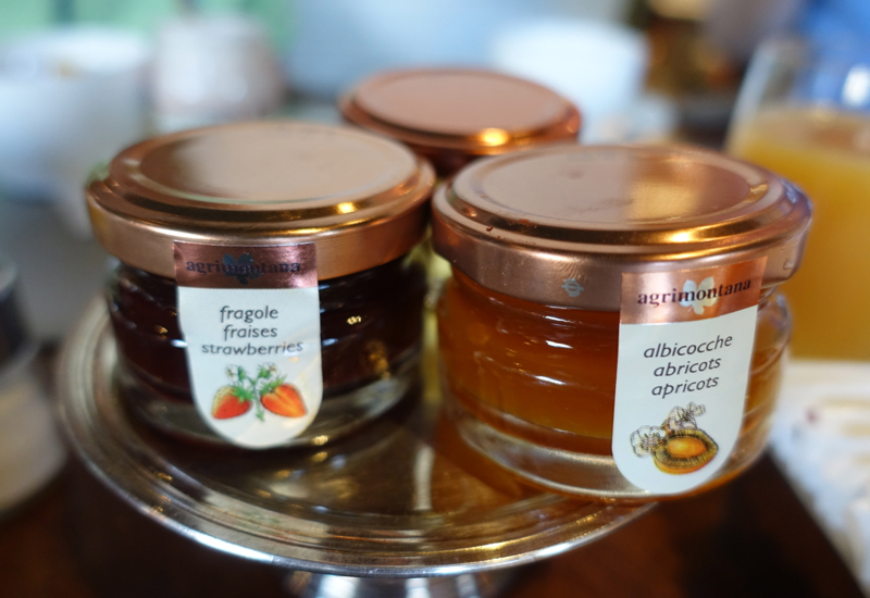 Agrimontana Jams, Portrait Firenze Breakfast Review
