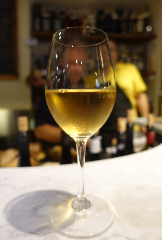 Riesling at Le Volpi e L'Uva Wine Bar, Florence