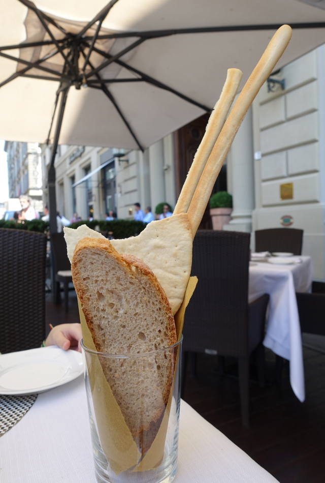 Bread, Irene Restaurant at Hotel Savoy, Florence