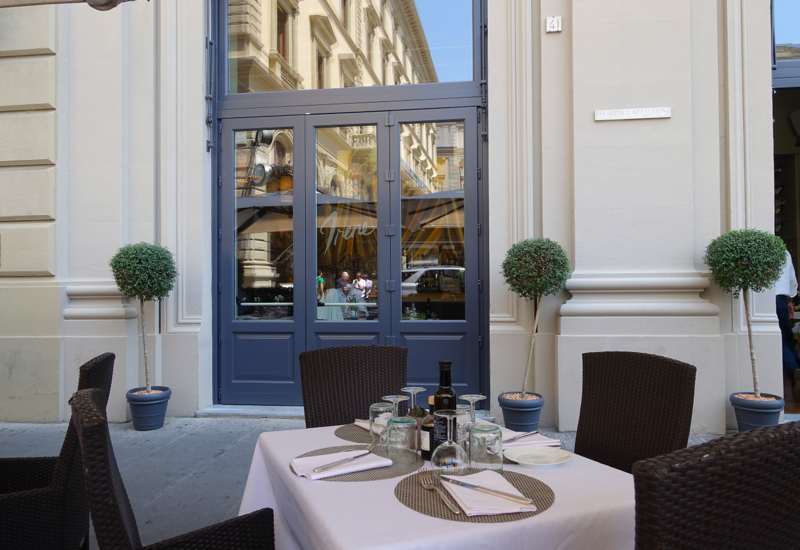 Review: Irene Restaurant at Rocco Forte Hotel Savoy, Florence Italy