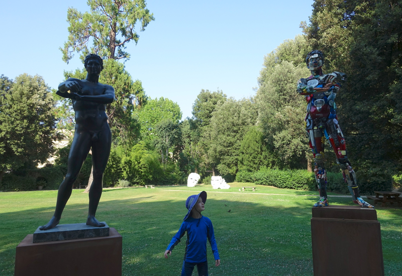 Exploring the Outdoor Art at Four Seasons Firenze, Florence
