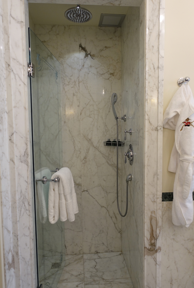 Rain Shower, Four Seasons Firenze Florence Review