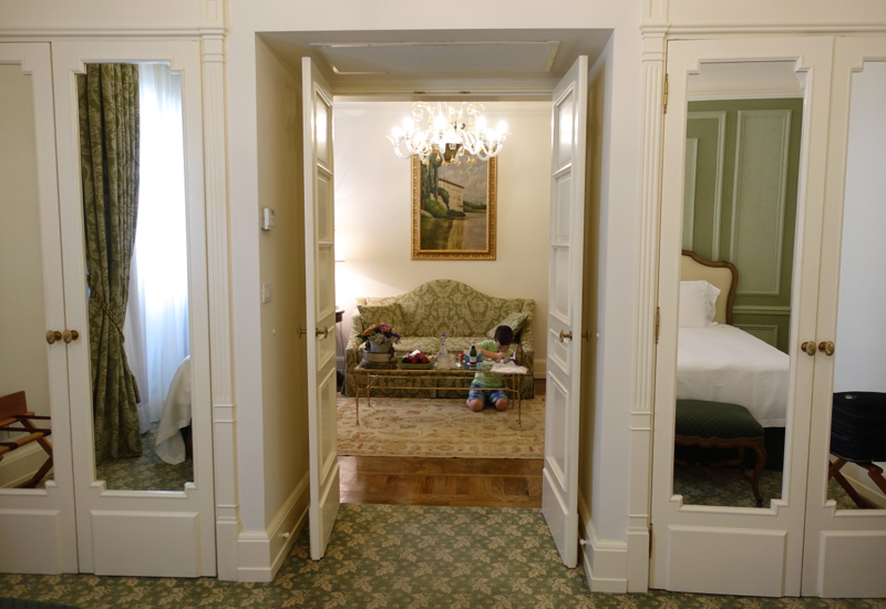 Junior Suite with Separate Bedroom and Living Room, Four Seasons Firenze Florence
