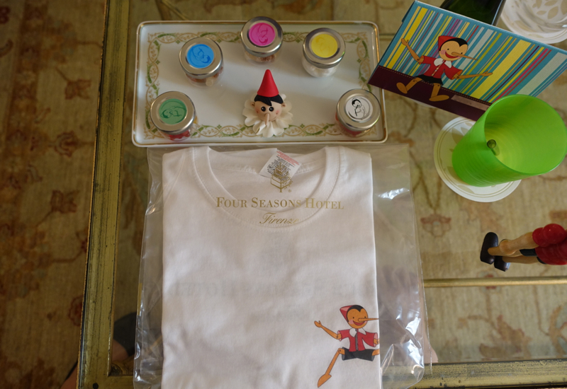 Kids' Welcome Amenities, Four Seasons Firenze Florence Review