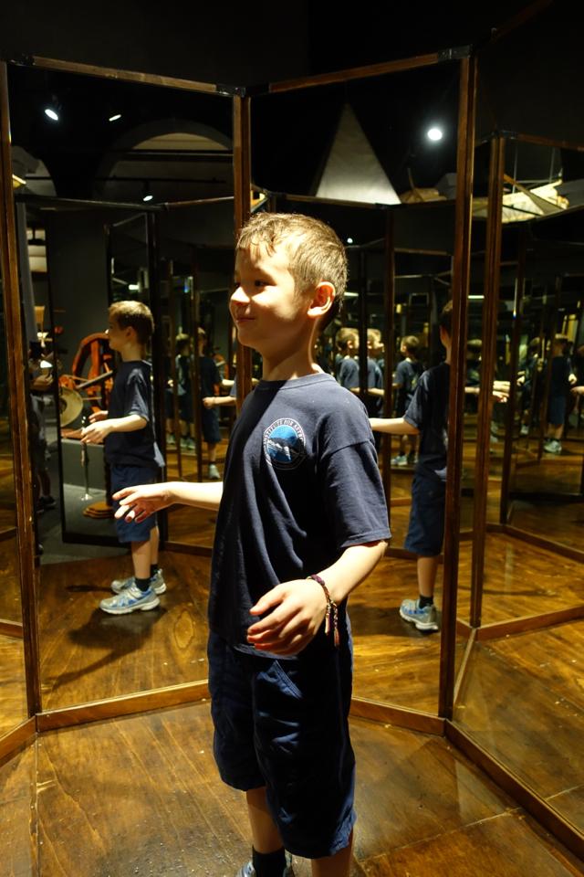 Room of Mirrors, Leonardo da Vinci Museum, Florence