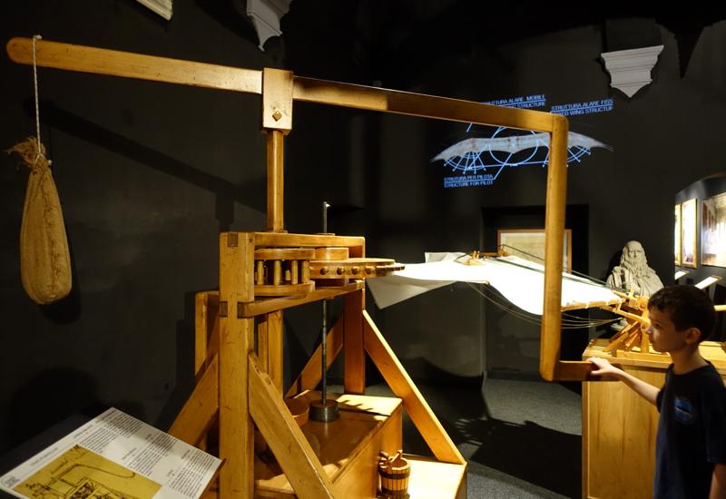 Olive Oil Press, Leonardo da Vinci Museum, Florence