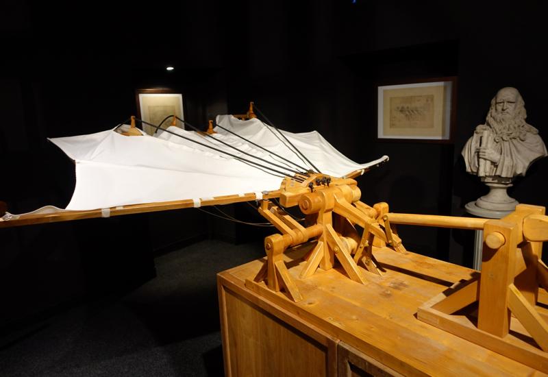 Study for a Winged Flying Machine, Leonardo da Vinci Museum, Florence