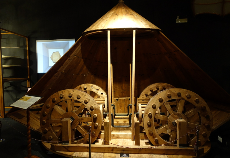 Tank, Leonardo da Vinci Museum, Florence