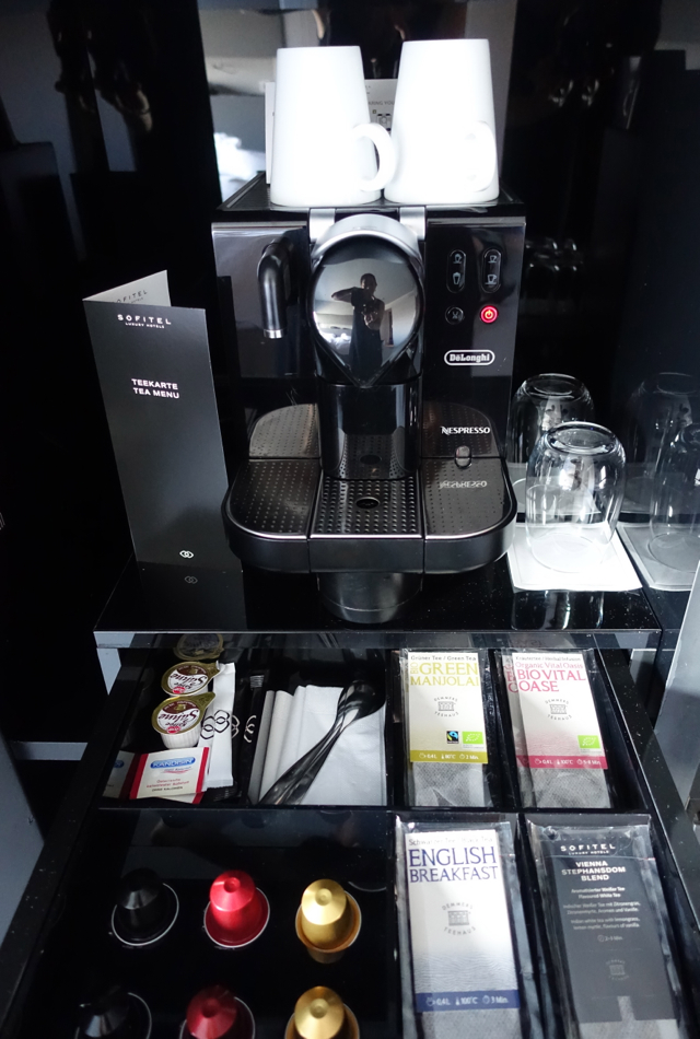 Nespresso Machine, Luxury Room, Sofitel Vienna Stephansdom